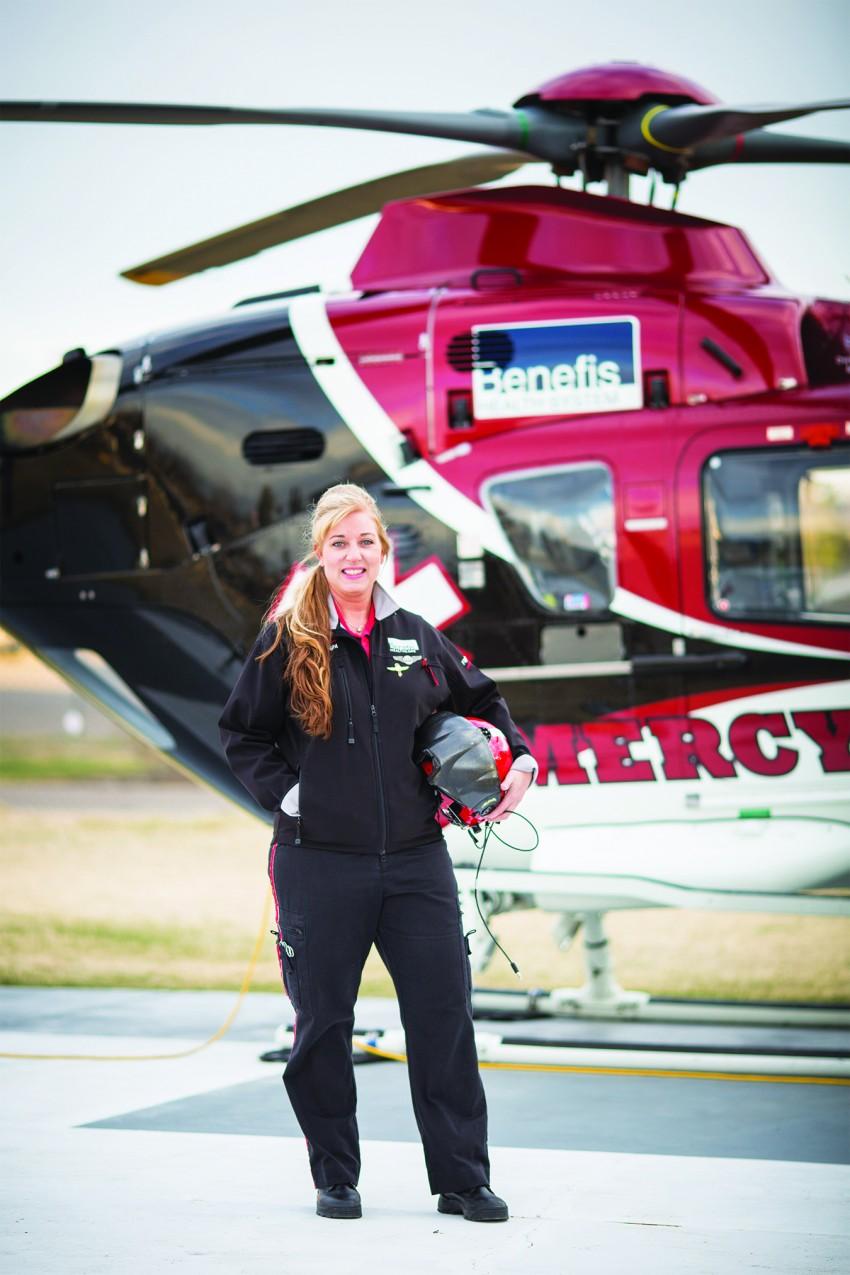 Neonatal Flight Nurse, Breckett Perkins