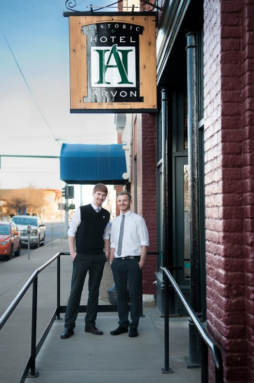 Whether you're a local looking for lunch or libation, or a tired traveler in search of supper and a place to hang your hat, Reid and Patrick will greet you at the front door of the Arvon Block.